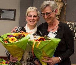 Jolanda Langen en Miek van den Bergh